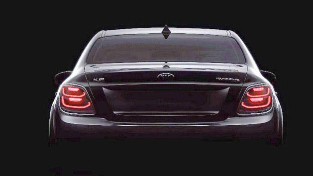 起亚新款K9最新官方预告 纽约车展亮相