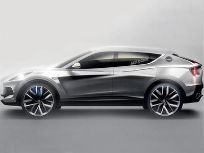路特斯全新SUV渲染图曝光 或2021年上市
