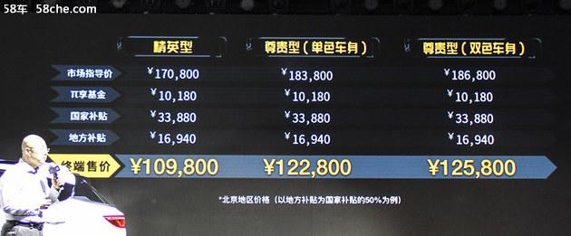 云度π3正式上市 售价为XX.XX-XX.XX万元