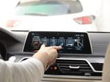 宝马M760Li多媒体系统体验  支持触摸控制