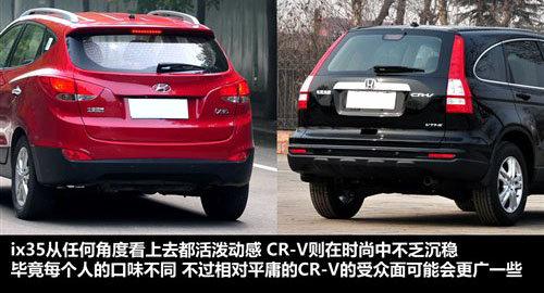 挑战王者地位 现代ix35对比本田CR-V