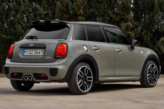 MINI新款五门版车型官图 或北京车展亮相