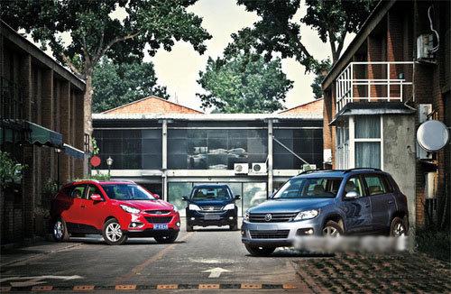 斗地主 对比三款SUV:途观,ix35,CR-V