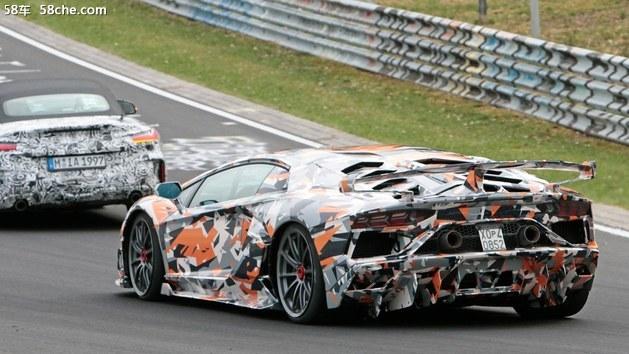 兰博基尼Aventador SVJ谍照 或超800马力