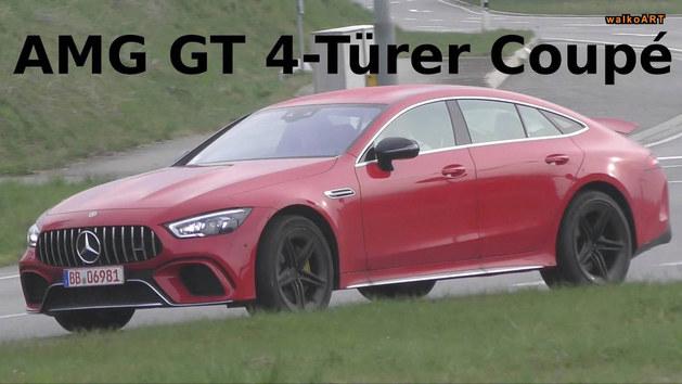 曝AMG GT四门版最新谍照 或明年初开售