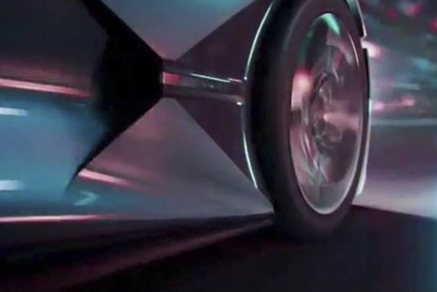 DS全新电动概念车预告图 或北京车展亮相