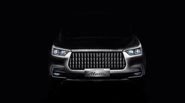 2018北京车展 猎豹全新SUV预告图曝光