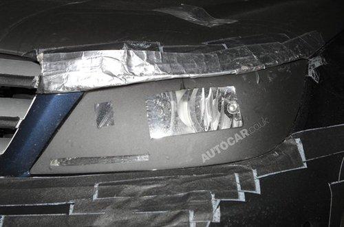 引入7AT变速器 改款奔驰C级路试照再曝