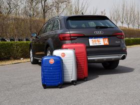 奥迪A4 allroad储物测试