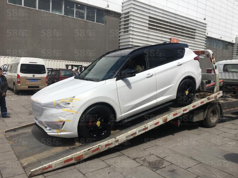 捷途新X70S实车曝光