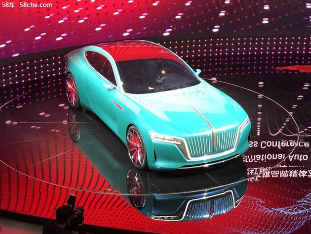 2018北京车展 红旗e·境gt概念车发布