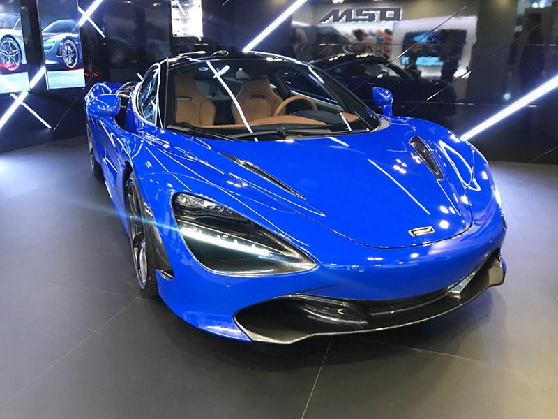 720S MSO巴黎蓝定制版