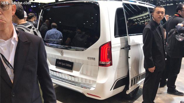 2018北京车展 福建奔驰V级AMG套件版发布