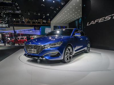 2018北京车展 北京现代LAFESTA静态体验