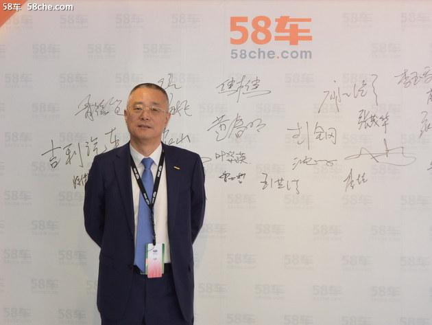 北京车展 访吉利销售公司副总经理陈洪生