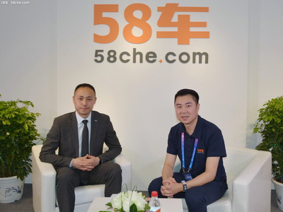 北京车展 专访郑州海马市场部浩潇潇
