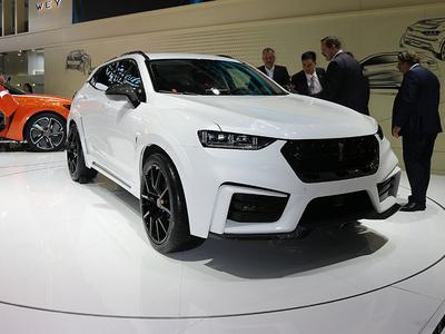 2018年北京车展 WEY VV7定制版车型实拍