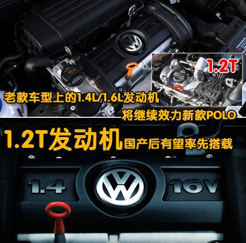 车身加长 上海大众新POLO谍照参数曝光