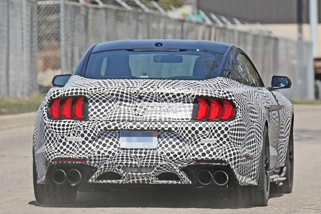 新Mustang Shelby GT500谍照 2019年发布