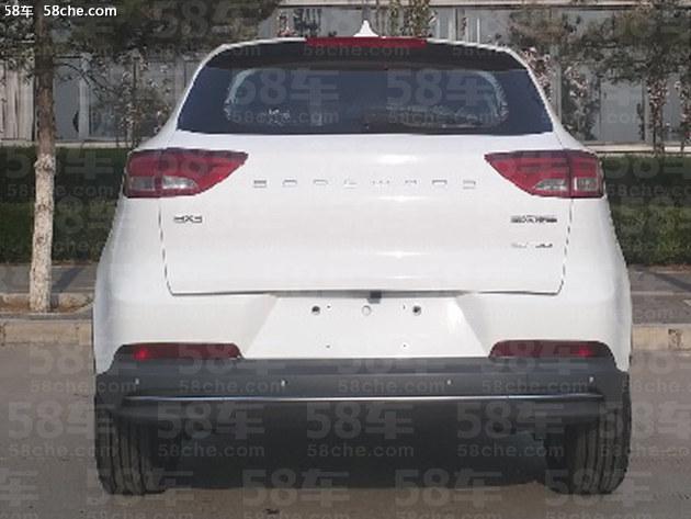 宝沃BX3申报图 定位小型SUV/1.4T发动机