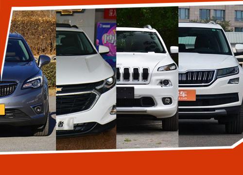 四驱应对缤纷雨季 四款合资中型SUV推荐