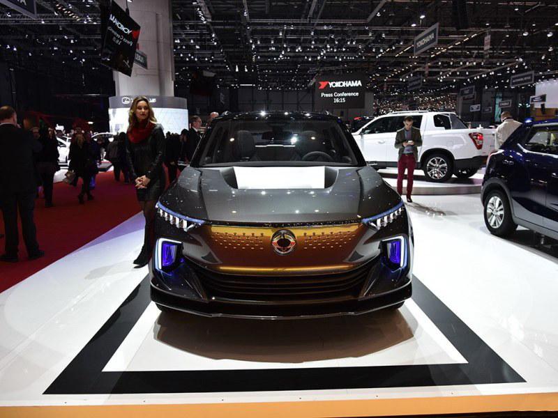 双龙电动SUV 2020年面世