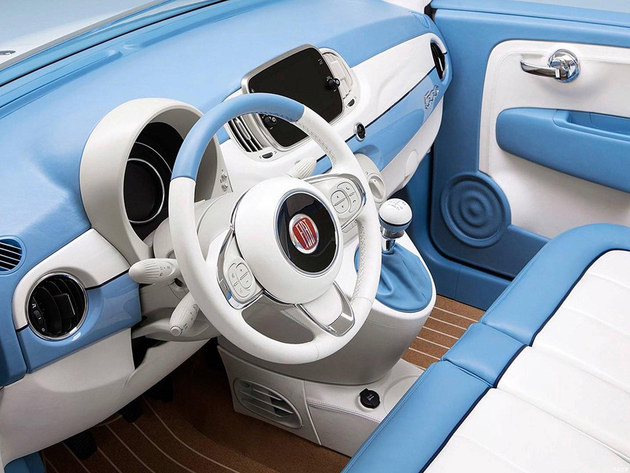 菲亚特500两款特别版官图 采用复古设计