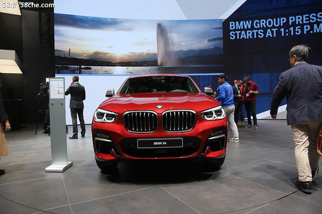 宝马全新X4将8月31日上市 车身尺寸增加