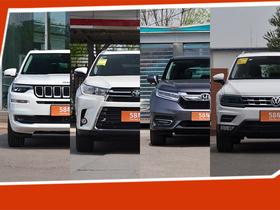 四款大五座中型SUV推荐