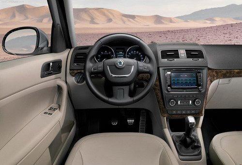 定位低于途观 国产斯柯达Yeti SUV展望