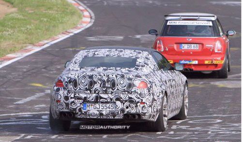 或巴黎车展发布 2012款宝马M6谍照曝光