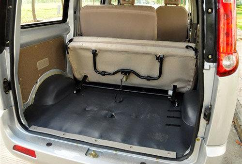 开瑞优优柴油版后部空间-奇瑞汽车开瑞正式上市高清图片