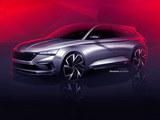 斯柯达VISION RS概念车 将巴黎车展首发