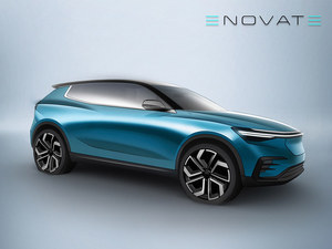 ENOVATE首款新车官图将于9月19日发布