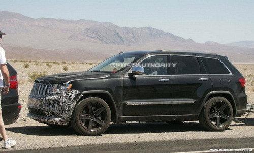 最强劲的SUV之一 全新大切诺基SRT8曝光