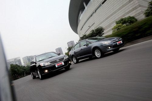 各领风骚 对比试驾4款1.6L家用紧凑型车