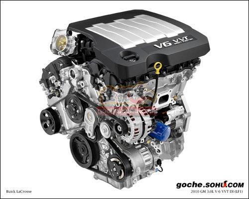 图001:LF1发动机外观图-未来定位解析 新别克GL8清晰实车再曝