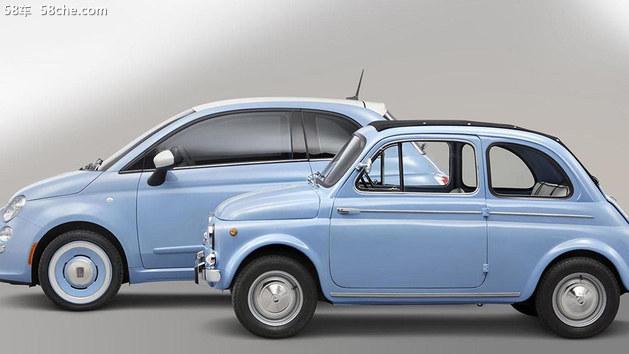 菲亚特500 1957特别版官图 外观年轻化