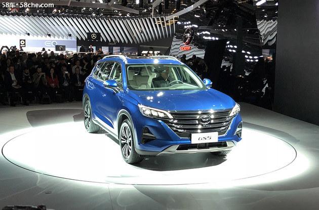 2018巴黎车展 新GS5预售12-17.5万元