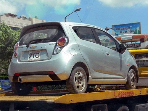 将于年内推出 雪佛兰新Spark试装车曝光