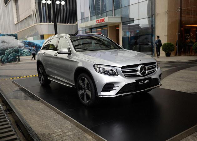 新奔驰GLC L上市 售价42.98-57.60万元