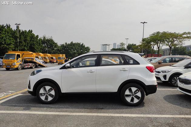 2018广州车展探馆 起亚KX3 EV实车亮相