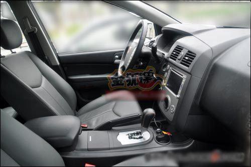 年底上市 上汽首款SUV荣威W5厂区图泄露