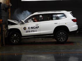 2018年C-NCAP第四批成绩