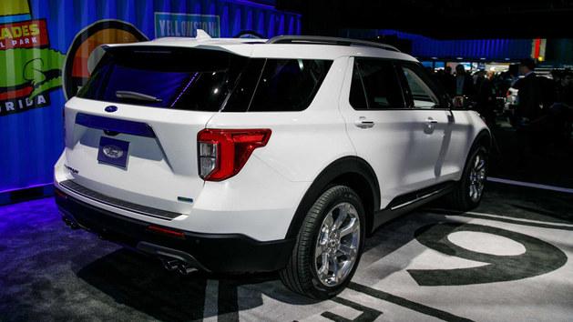 福特全新探险者北美车展亮相 或年内国产