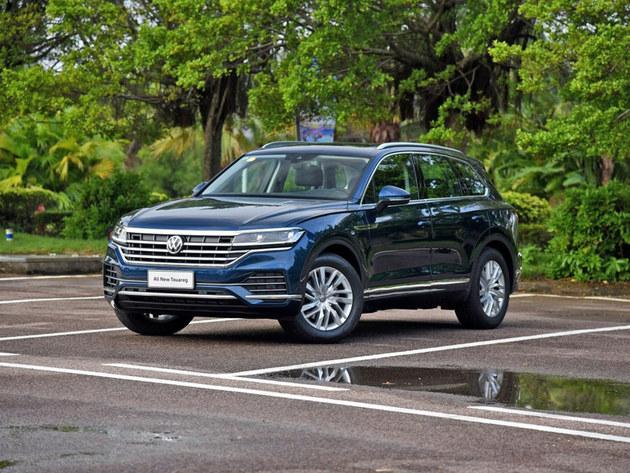 大众途锐新增车型上市 指导价58.68万元