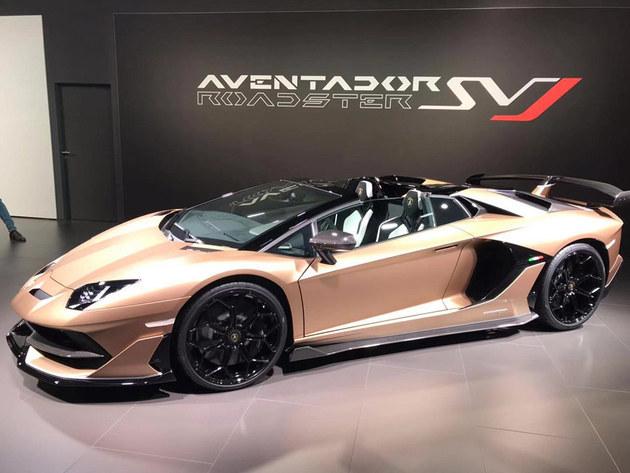 2019日内瓦车展 Aventador SVJ敞篷版