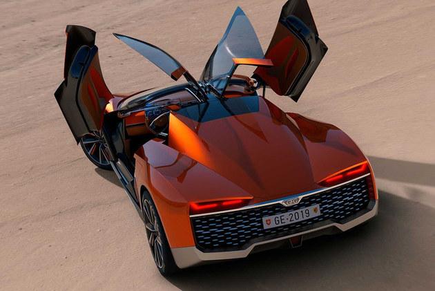 日内瓦车展 新GFG Style Kangaroo发布
