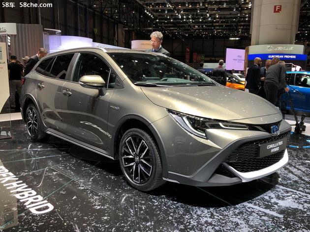 2019日内瓦车展 丰田卡罗拉Trek全球首发