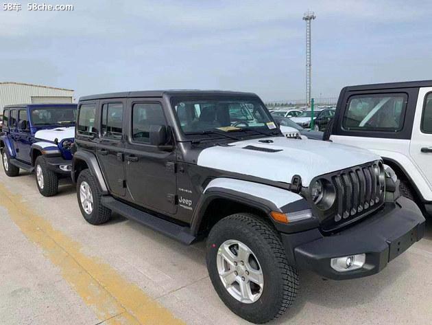 全新Jeep牧马人炫顶版谍照 实车更亮眼